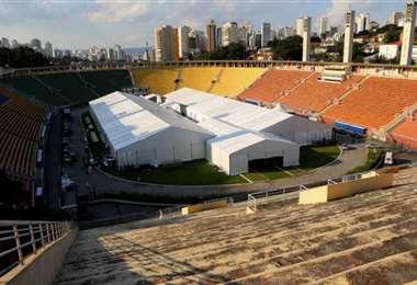 El estadio símbolo de la ciudad de San Pablo. Foto Internet