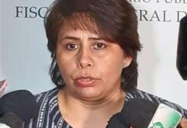 Mirna Arancibia, fiscal departamental