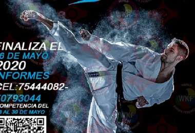 Parte del afiche que la Feboka ha elaborado para promocionar el torneo. Foto: Feboka