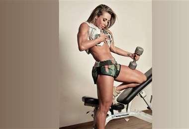 Laura Donoso, deportista