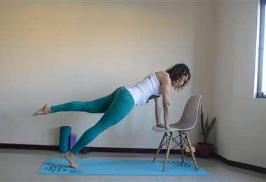 Pilates en casa con Karina Correa