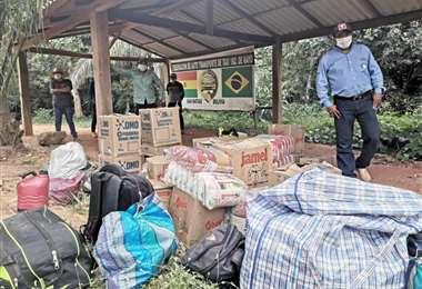 Los pobladores continúan en la frontera sin saber qué hacer