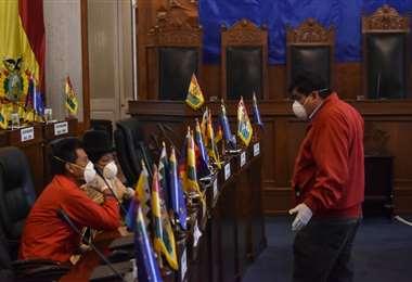 El Gobierno pidió al Legislativo aprobar con urgencia la ley de alivio tributario para brindar un respiro a los contribuyentes./Foto: APG Noticias