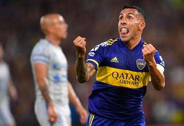 Carlos Tevez está vinculado a Boca Juniors, equipo con el que es campeón del Argentina. Foto: Internet