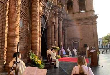 Foto: Arquidiócesis de Santa Cruz