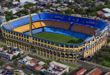 El estadio La Bombonera del club Boca Juniors es candidato para albergar la próxima final de la Libertadores. Foto: internet