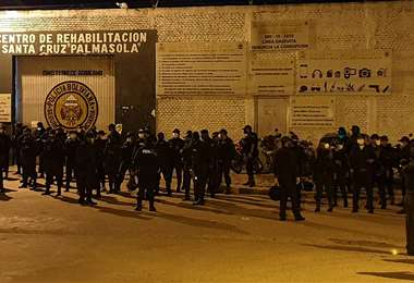Cárcel de Palmasola (Foto: JORGE GUTIÉRREZ)