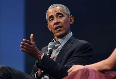 El expresidente Barack Obama. Foto AFP