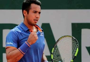 Hugo Dellien espera volver a competir en agosto y en el US Open. Foto: El Deber