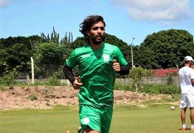 Juan Diego Gutiérrez llegó en enero de este año al equipo refinero. Debutó con gol ante Nacional Potosí en el Apertura. Foto: El Deber