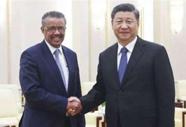 Las tensiones EEUU-China amenazan la reunión mundial de la OMS