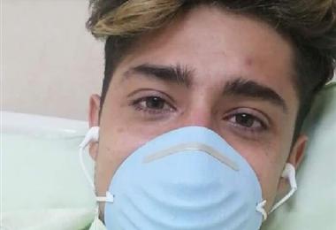 Camilo Puentes, uno de los colombianos afectados por Covid-19