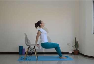 Día 10: ejercicios de brazos y piernas junto a Karina Correa