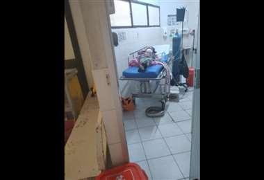 El hospital de Montero