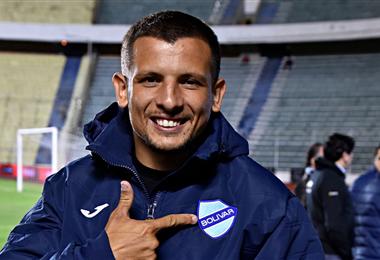 Emiliano Vecchio solo jugó siete partidos en Bolívar