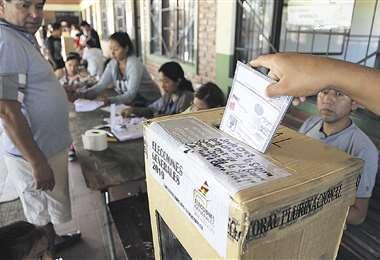 Los comicios electorales se postergan desde octubre de 2019