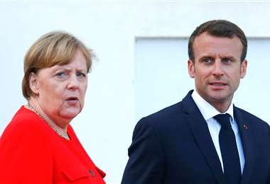 Macron y Merkel presentan hoy un plan