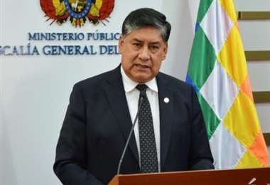 Juan Lanchipa, fiscal general