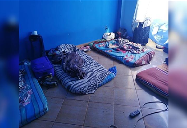 Los colombianos vivían en precarias condiciones