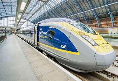 El tren de alta velocidad Eurostar. Foto Internet