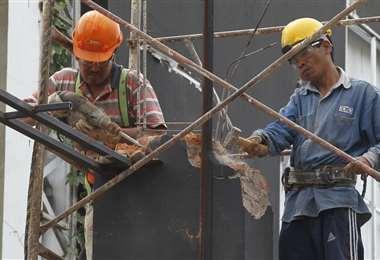 El sector de la construcción genera 466.000 empleos de forma directa/Foto: Fuad Landívar