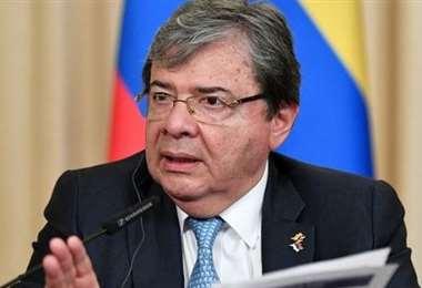 El ministro de Defensa colombiano. Foto Internet