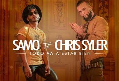 El músico mexicano y el boliviano se unieron para dar un menaje de esperanza
