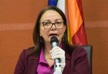 La nueva ministra interina de Salud I Archivo