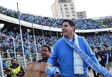Marcelo Claure, presidente del club Bolívar. Foto: El Deber