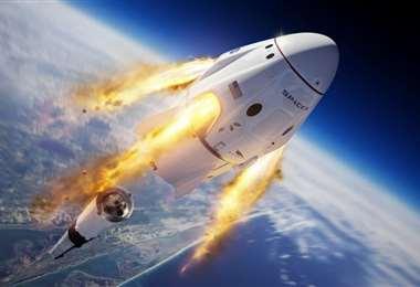 Será el primer vuelo tripulado de la nave espacial. Foto Internet