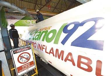 La estatal no retiró 25 millones de litros desde marzo/Foto: EL DEBER
