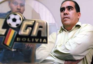 Fernando Humérez fue presidente de la ex Liga del Fútbol Profesional Boliviano. Foto: Internet