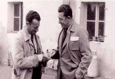 Los hermanos Rudolf y Adolf Dassler fueron los creadores de Puma y Adidas, respectivamente. Foto: Internet