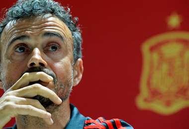 Luis Enrique fue técnico del Barcelona y ahora dirige a la selección española. Foto: Internet
