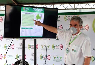 Luis Alberto Alpire, secretario de Desarrollo Productivo de la Gobernación de Santa Cruz. Foto. Gobernación de Santa Cruz