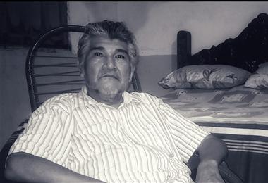 Marcial Fabricano, exlíder indígena de Beni. Foto. Cuenta de Facebook de Marcial Fabricano