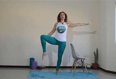 Practica pilates en casa junto a Karina Correa
