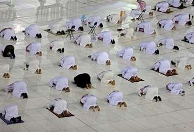 En Bagdad, el ramadán al ritmo de los llamados a la oración y al confinamiento