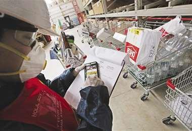 Crecimiento. En ROHO Homecenter realizan 150 entregas de pedidos por día/Foto: EL DEBER