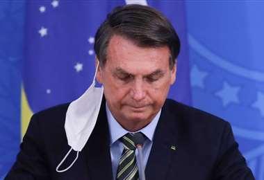 Bolsonaro envuelto en nueva polémica. Foto AFP