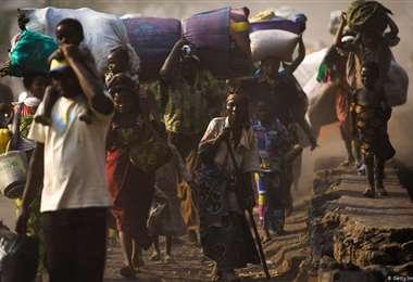 Más de 660.000 desplazados durante la pandemia por conflictos