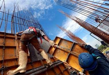 La construcción emplea a más 400.000 personas en todo el país,según datos del sector. Foto: Ricardo Montero