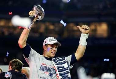 Tom Brady, el jugador de football americano más laureado de la historia, será el protagonista de un documental de ESPN que se estrenará el próximo año. Foto: AFP