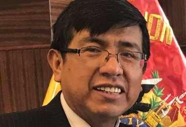 Germán Huanca, exviceministro de Planificación Foto: Facebook