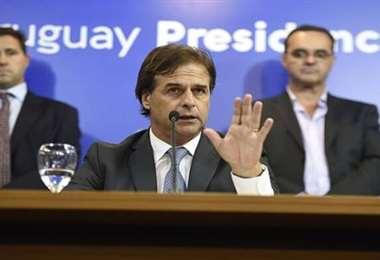 El mandatario uruguayo. Foto Xinhua