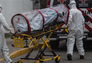 La pandemia del Covid-19 a golpeado a todo el planeta. Foto. AFP