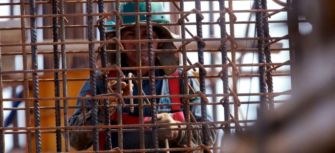 El sector de la consrucción es uno de los más afectados durante la cuarentena debido al parón de actividades. Foto: Ricardo Montero
