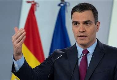 El presidente español Pedro Sánchez anunció el fin de la prohibición que rige desde mediados de marzo