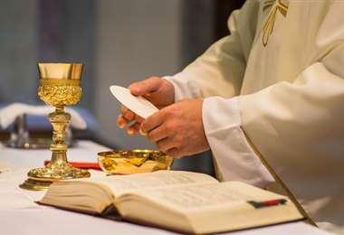 Este oficio religioso habría sido celebrado en una iglesia protestante el 10 de mayo