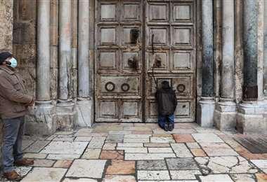 La basílica del Santo Sepulcro abrirá sus puertas tras dos meses cerrada por la pandemia del coronavirus